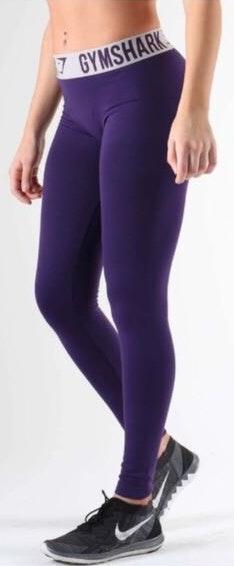 Gymshark Fit Leggings In Deep Purple