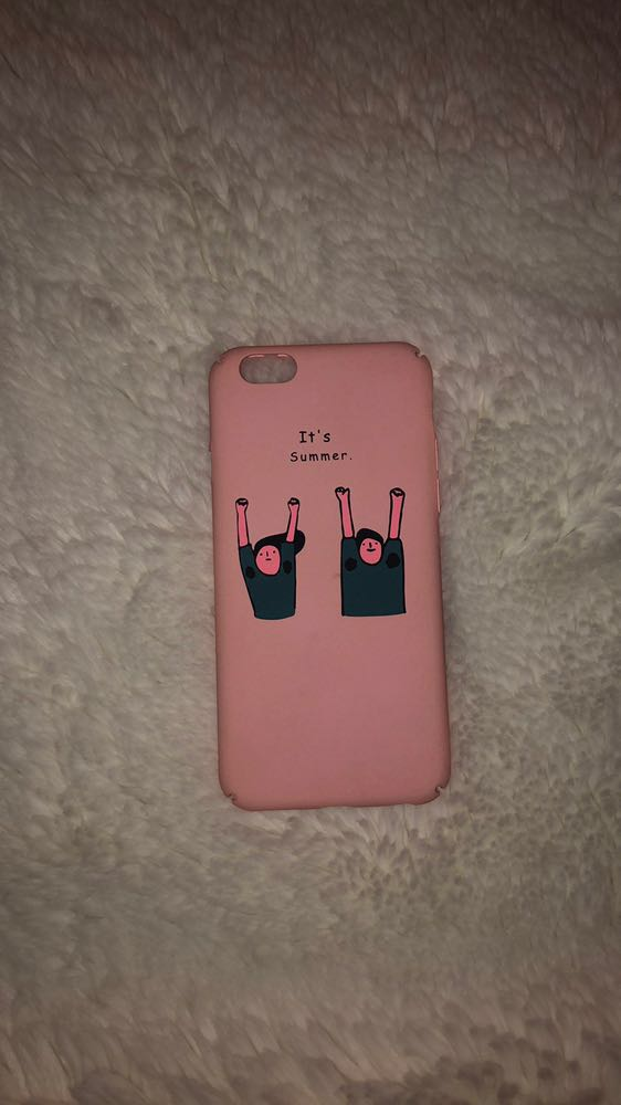 Pink iPhone 6/6s/7 Case