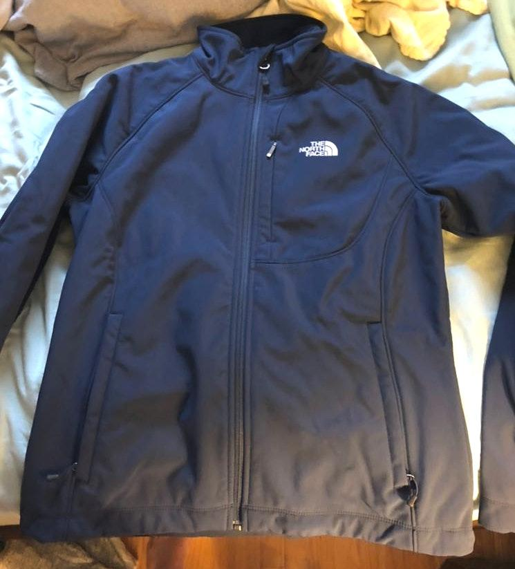 The North Face navy jacket