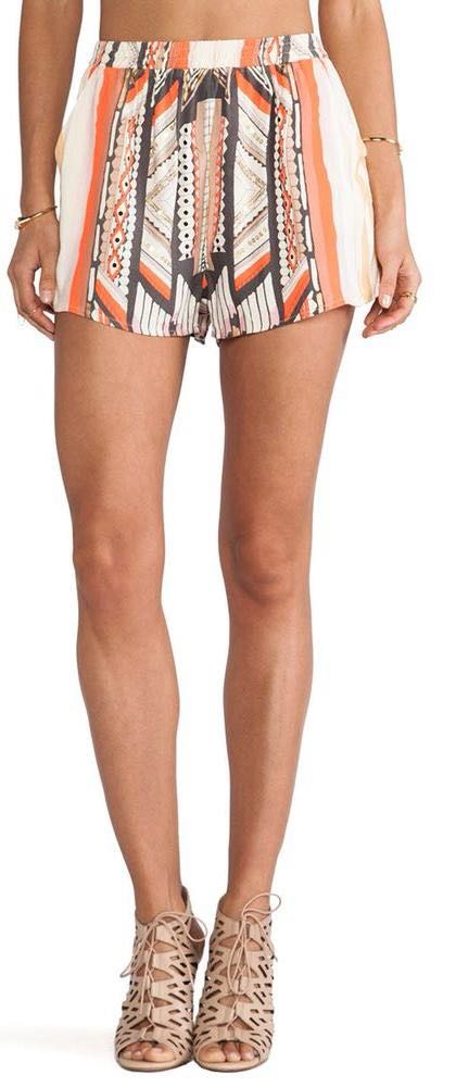 MINKPINK Printed Shorts