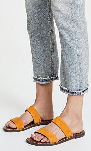 Sam Edelman Double Strap Sandals   Curtsy