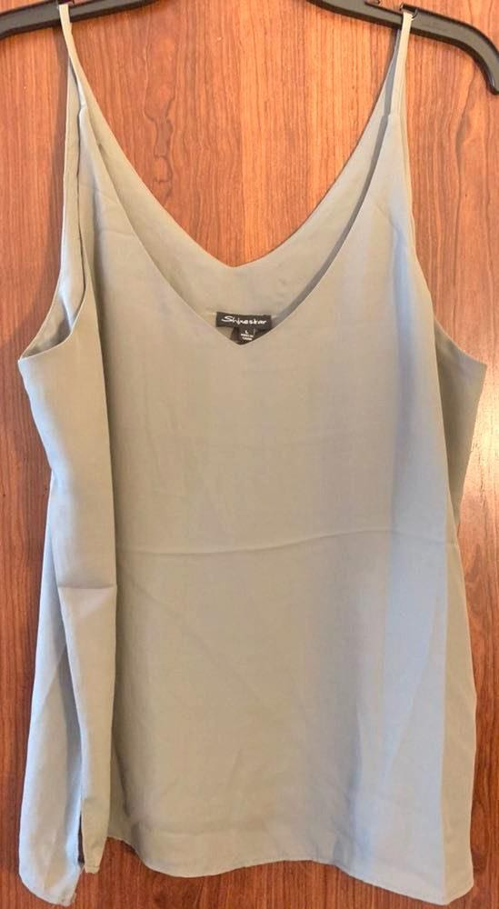 Lizard Thicket Olive Green Tank