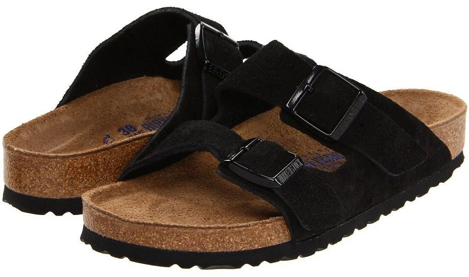 Birkenstock Arizona Suede Leather Black