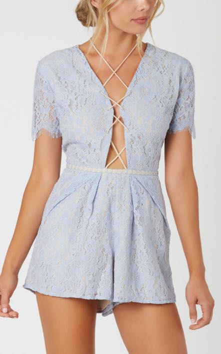 DO+BE Lace-up Romper