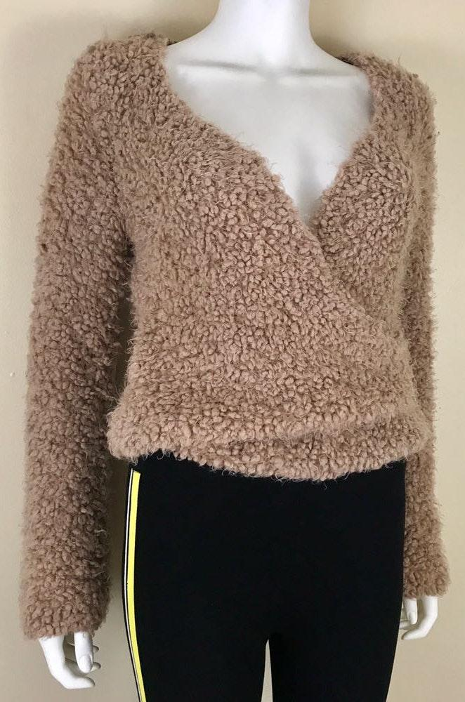 Free People Teddy Sweater Size Small
