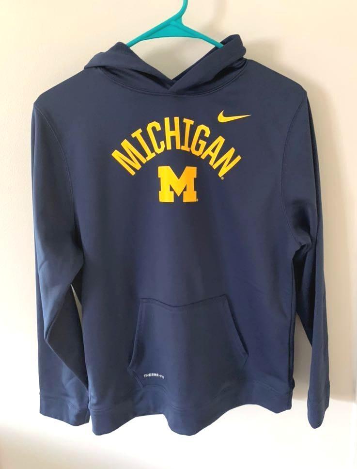 university of michigan nike hoodie
