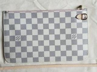 Louis Vuitton Damier Azur Pochette Wristlet