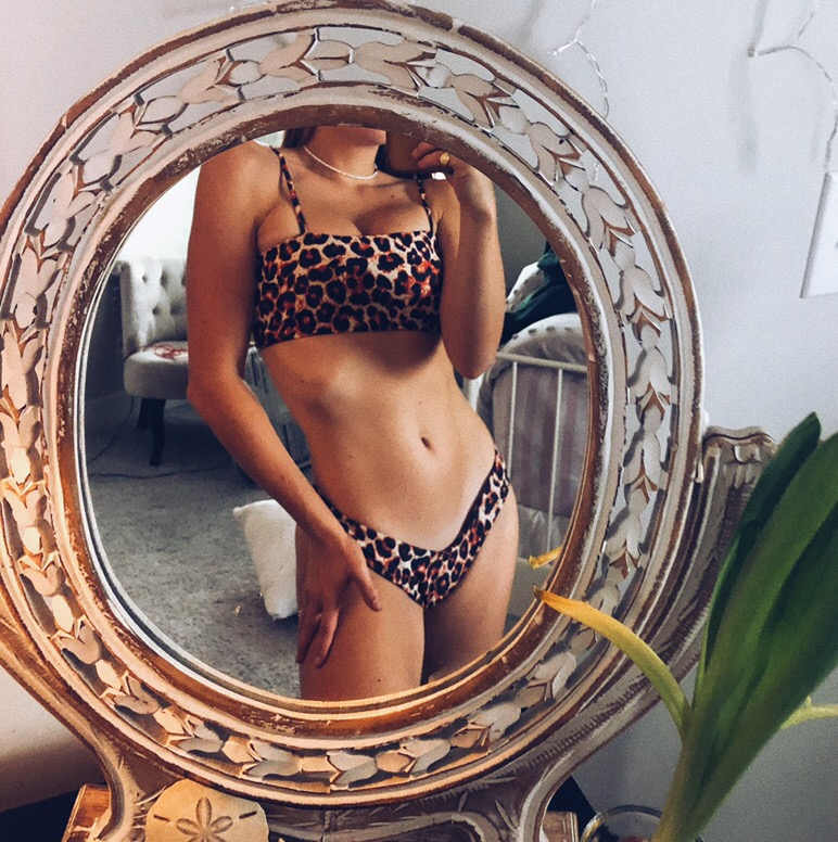 Cheetah Bikini Set