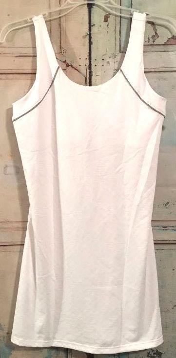 FILA White Sleeveless Dress