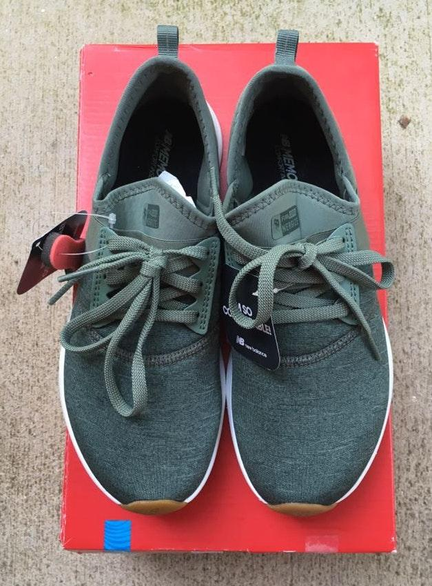 New Balance Olive colored Sneakers