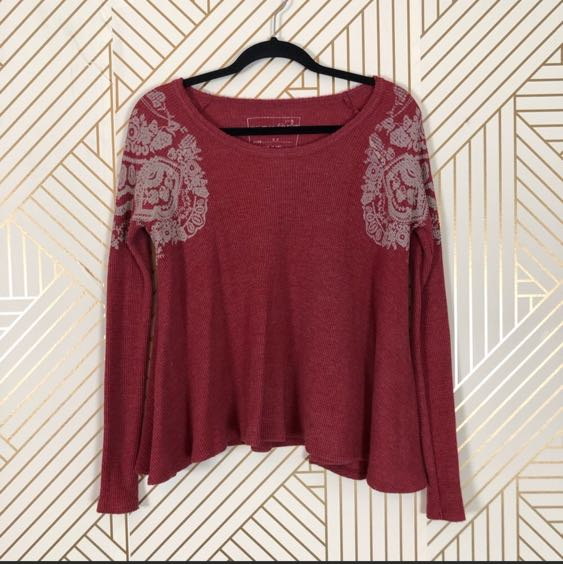 We The Free Free people red top