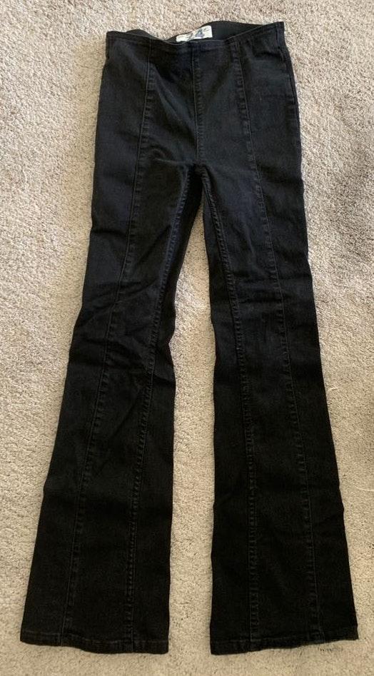 Free People Flare black pants