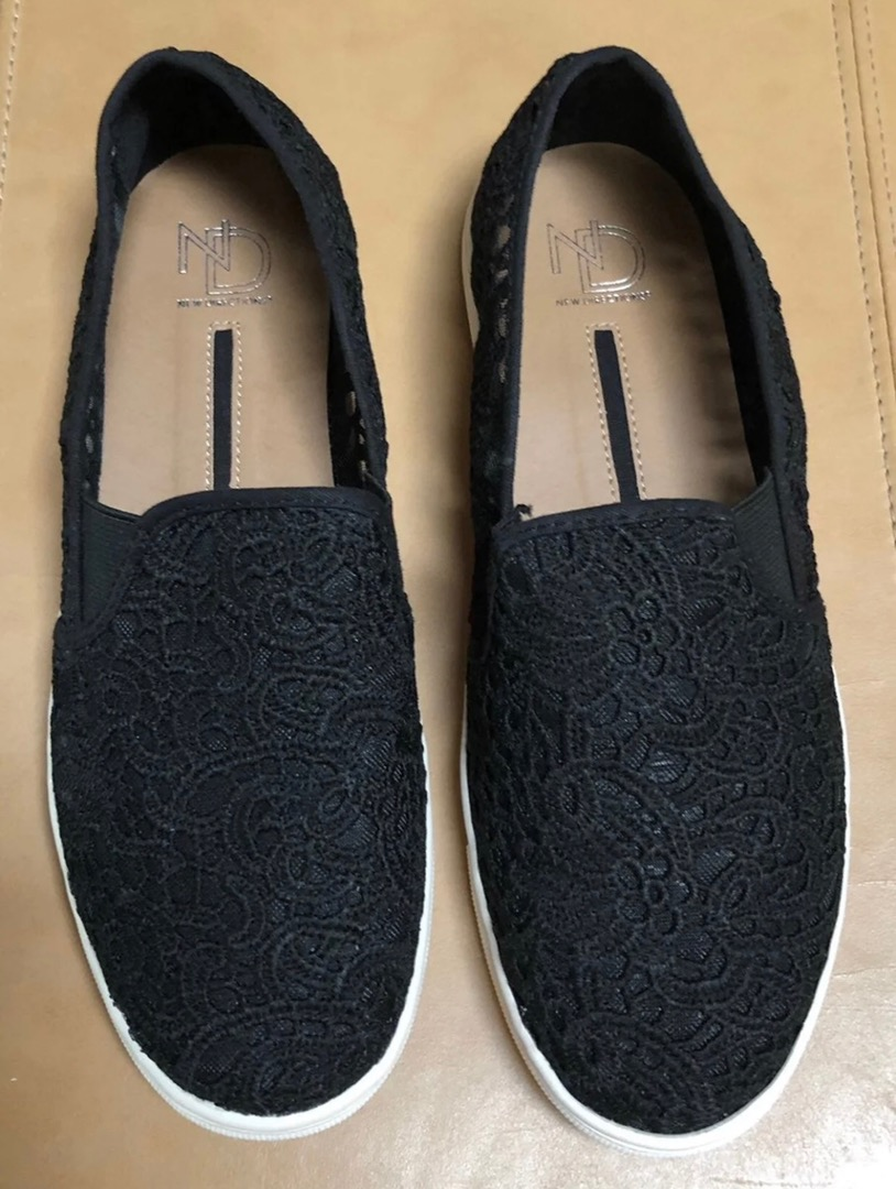 New Direction Lace Slip On Shoes | Curtsy