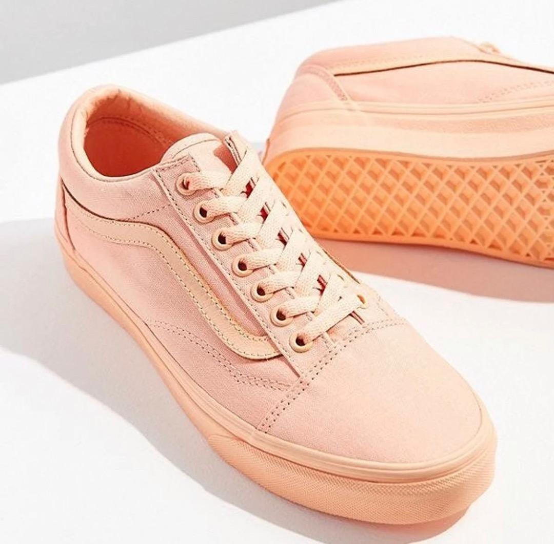 Vans Old Skool Sneakers peach | Curtsy