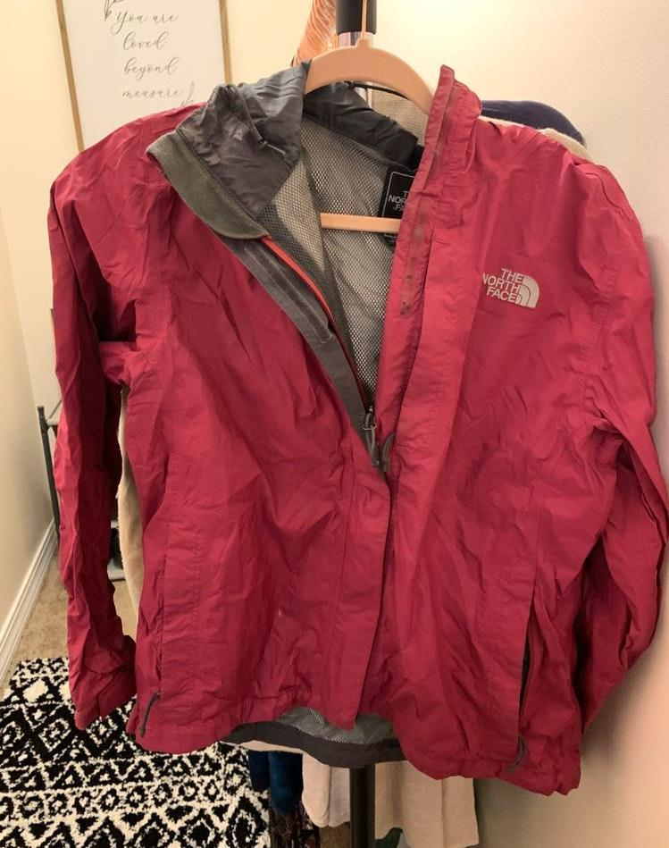 The North Face Pink Raincoat
