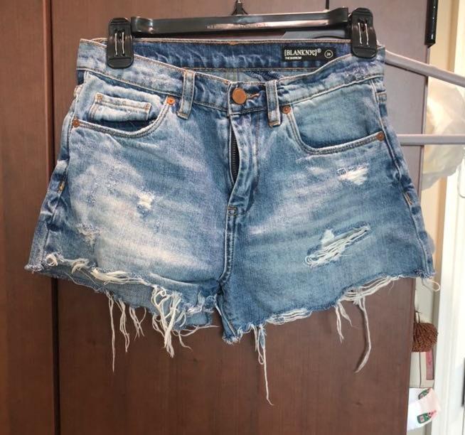 BLANK NYC Denim Shorts
