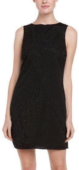 Susana Monaco Beaded Formal Dress