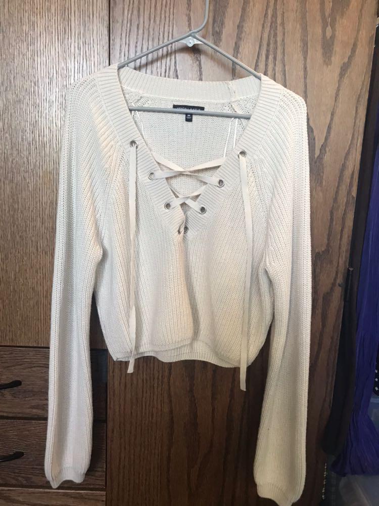 Kendall & Kylie Beige Sweater