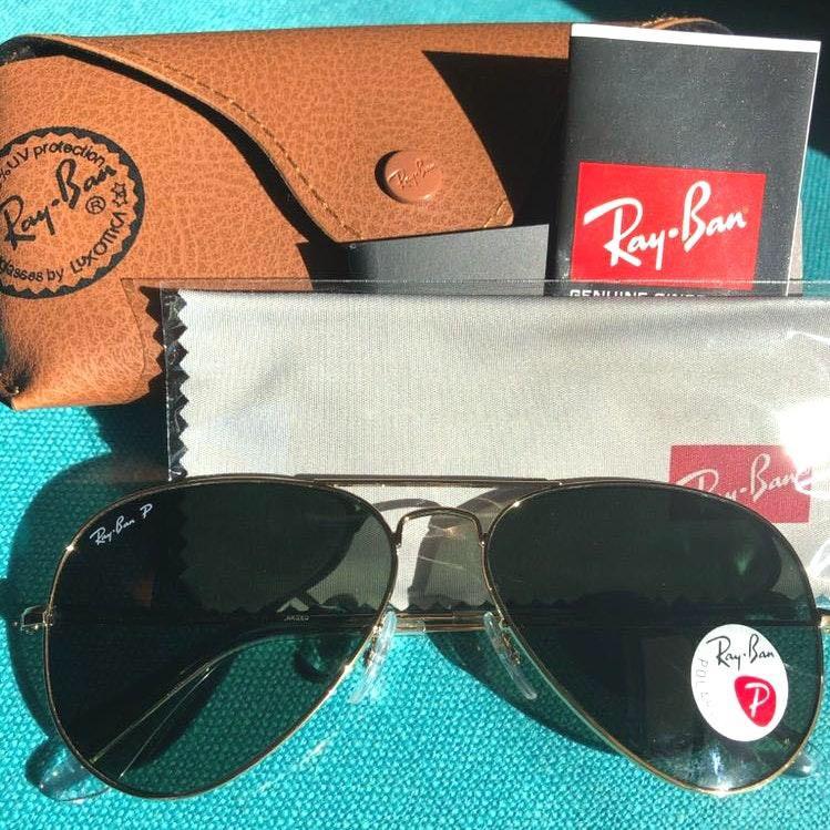 Ray-Ban New Rayban Sunglasses Polarized Size 58mm