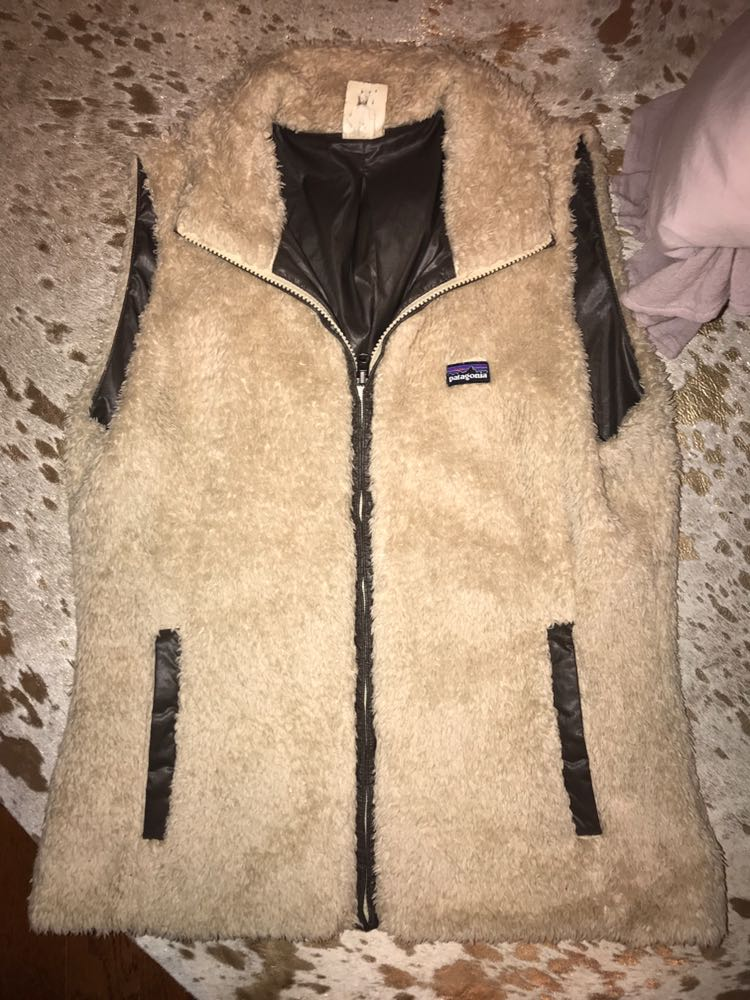 Patagonia Reversible Fur Vest
