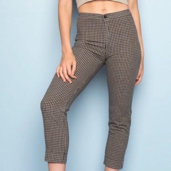Brandy Melville Gingham Pants