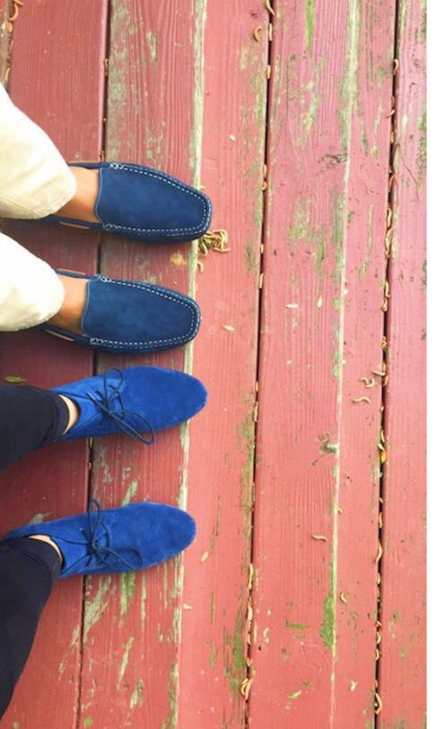 DSW Blue Suede Shoes! | Curtsy