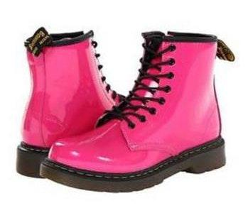 Dr. Martens Hot Pink Shoes