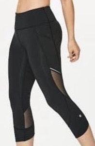 Lululemon Black Running Leggings