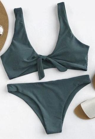 SheIn Green Bikini Set