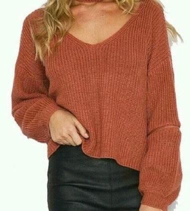 Pretty Little Thing Zip Sweater