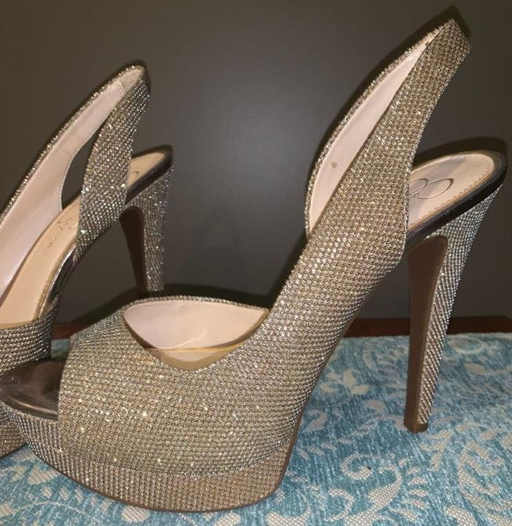 Jessica Simpson Prom Heels