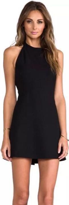 Revolve Clothing Mini Halter Dress