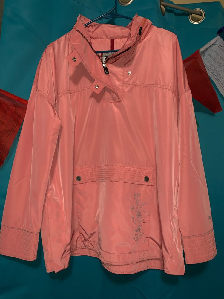 Pink Rain Jacket/ Windbreaker