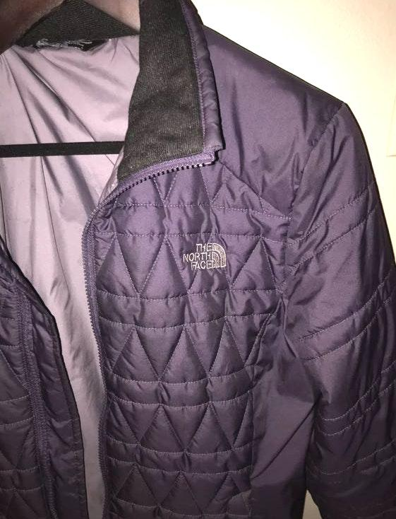 The North Face Purple North Face Coat