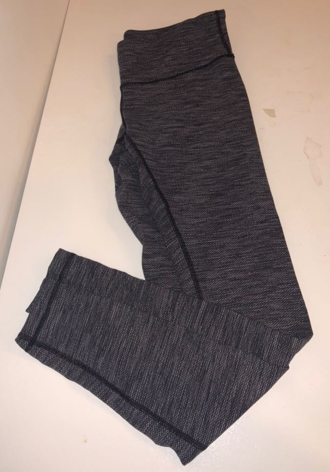 Lululemon Gray Patterned Leggings