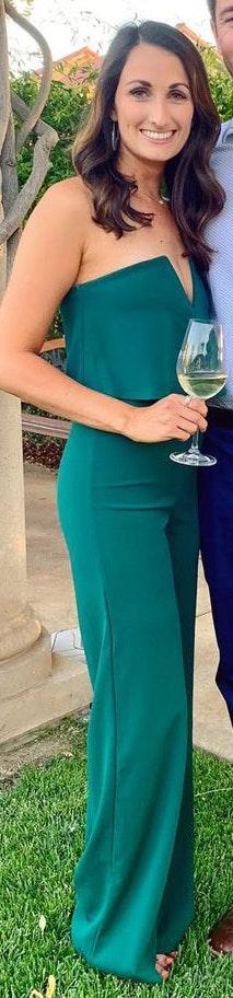 Lulus Emerald Green Jumpsuit