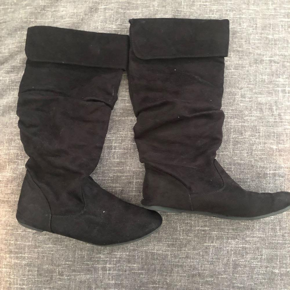 Macy's Black Boots