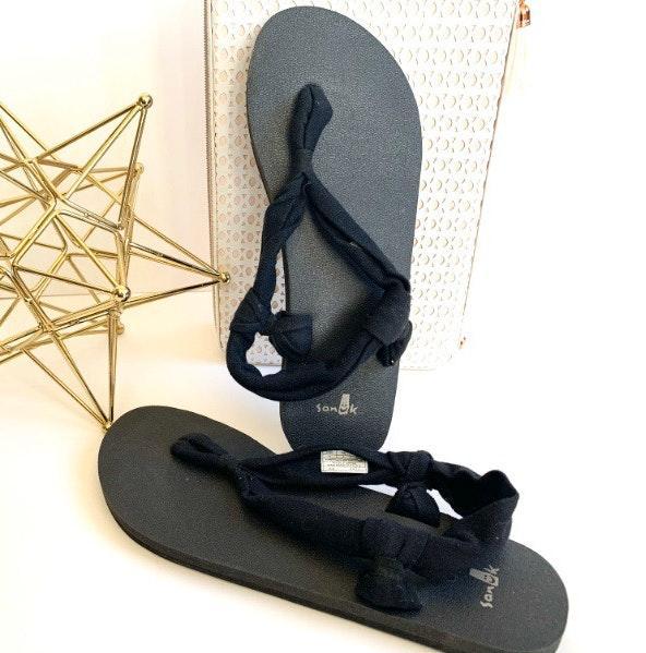 Sanuk Sanuks Yoga May Sling Back Sandals - Sz 9