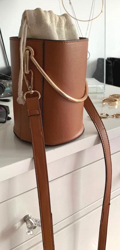 Cute Cognac Bucket Bag