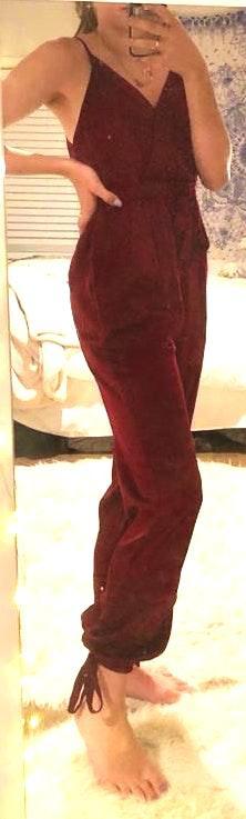 Tobi Maroon Jumpsuit