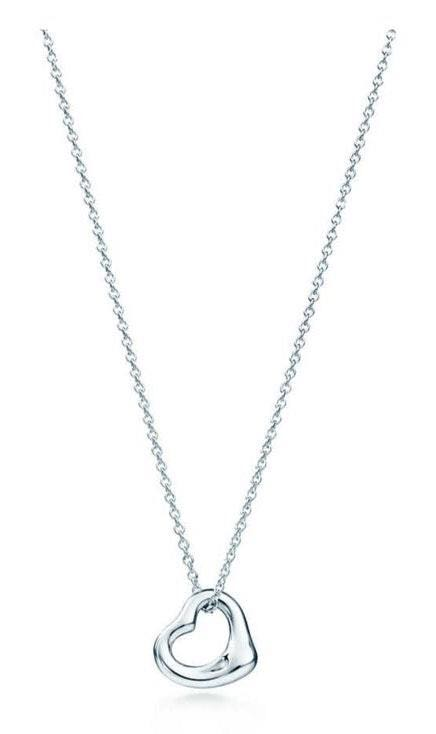 Tiffany & Co. Elsa Peretti® open heart necklace