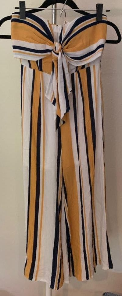 VICI Striped Jumpsuit