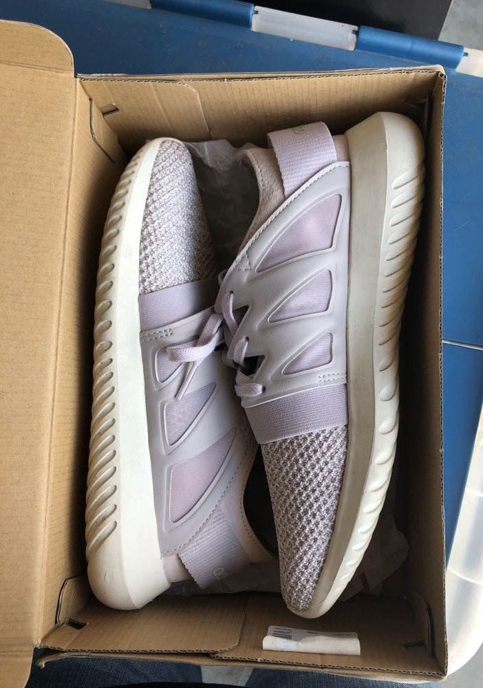 Adidas Purple  Shoe