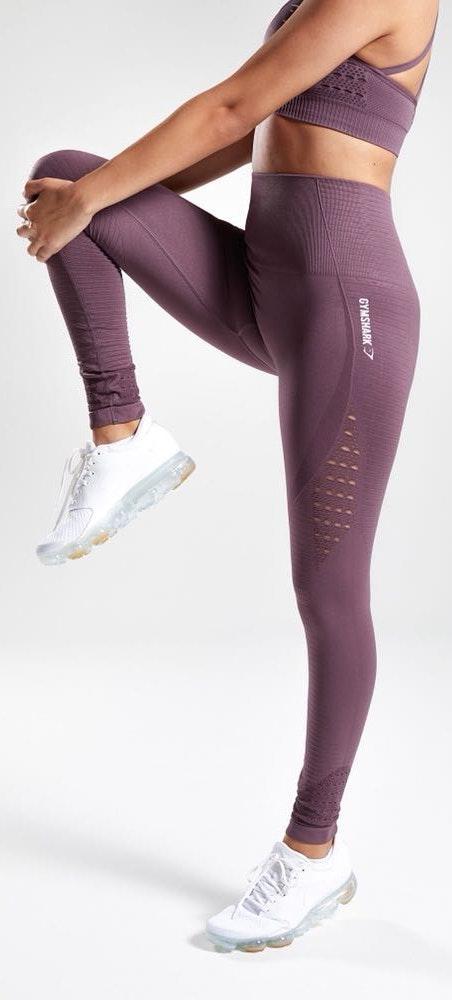 Gymshark Purple High Waisted Leggings