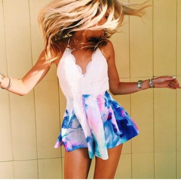 Rumor Boutique LF Fun and beautiful romper