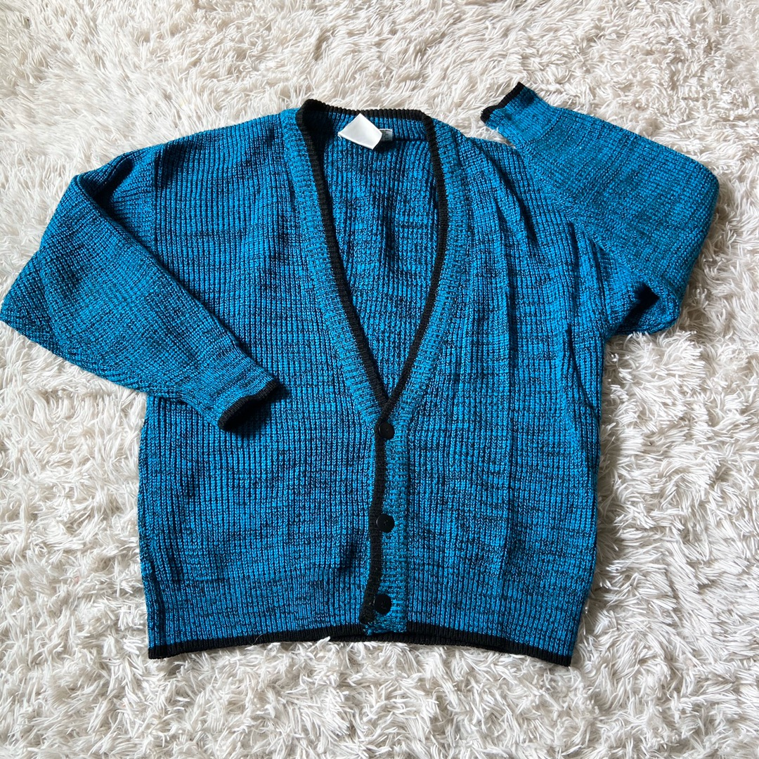 Retro Knit Cardigan Sweater