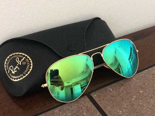 Ray-Ban Neon Green Sunglasses