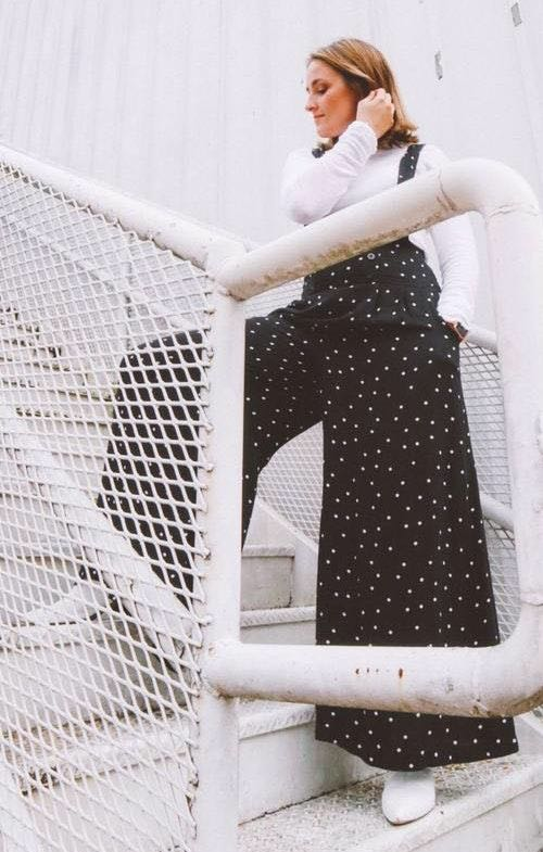 Free People Polka Dot Coverall