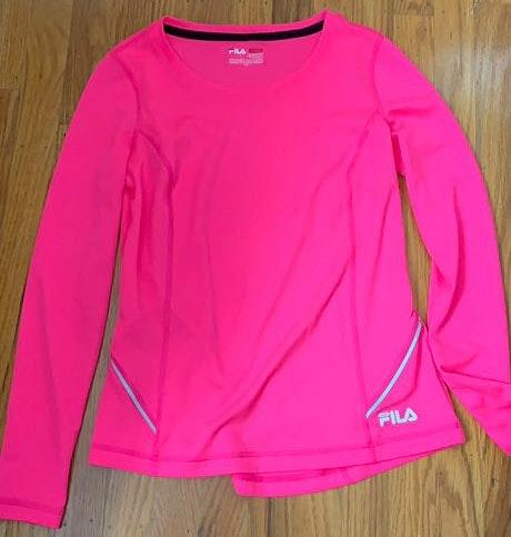 FILA Pink long sleeve shirt