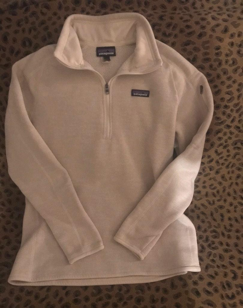 Patagonia 3/4 Zip  Pull Over New Never Warn